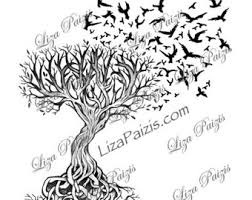 tree of life tattoo etsy