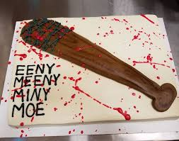 cake ideas lucille cakes best 25 walking dead cake ideas on walking