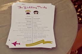 Cheap Wedding Programs The Lucky Penny Blog The Wedding Part 1 The Theme