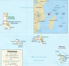 map comoros conflict in the comoros geocurrents
