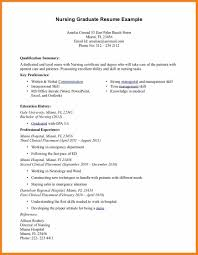 Nursing Resume New Grad New Grad Nurse Resume Free Resume Example And Writing Download