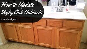 how to modernize honey oak cabinets how to update oak cabinets on a budget cheap and cheeky