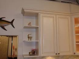 White Painted Cabinets With Glaze by Antique White Maple Glazed Kitchen Cabinets