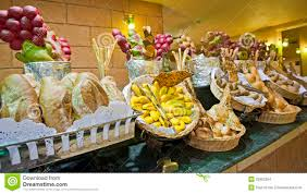 bread display at a hotel buffet stock photo image 25982594