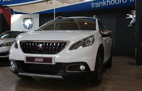 peugeot cars south africa peugeot 2008 production line launched in iran financial tribune