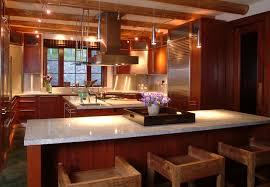 Kitchen Design Trends by Amazing Kitchen Design Trends With Brown Cabinet Granit Bar And