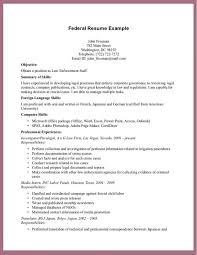 Resume Templates Samples Examples by Cool Federal Resume Template Horsh Beirut