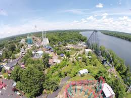 Six Flags Agawam Hours Inpark Magazine U2013 Bizarro And Wicked Cyclone At Six Flags New