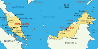 Interactive Map Of Asia by Malaysia Luxury Yacht Charter