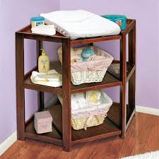 Change Table Height Chaning Table Badger Basket Cherry Corner Changing Table
