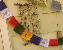 Tibetan Home Decor Prayer Flags Etsy