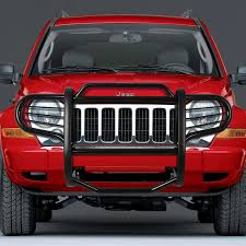 jeep brush truck 07 jeep liberty kj front bumper protector brush grille guard black