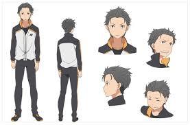 subaru anime character re zero kara hajimeru isekai seikatsu anime personajes subaru