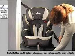 comment attacher un siège auto bébé installation du kidconfort rehausseur groupe 1 2 3 boulgom