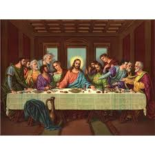 picture of the last supper ii by leonardo da vinci art gallery oil painting reions