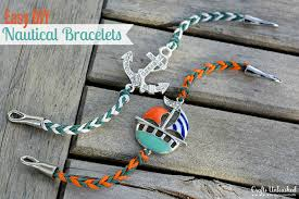 anchor jewelry bracelet images Anchor bracelet tutorial easy quick nautical jewelry jpg