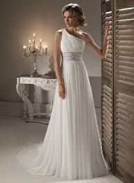 one shoulder wedding dresses 2011 ivory one shoulder beaded chiffon a line princess wedding dresses
