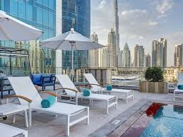 luxury hotel dubai with spa wifi and view of the burj khalifa