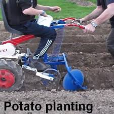 Walk Behind Seed Planter by Potato Planting And Harvesting Russian Style Just Tooling