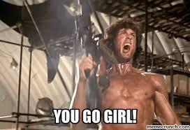 You Go Girl Meme - go girl