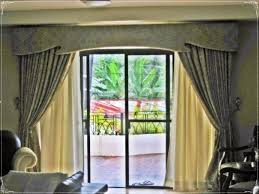 Curtains For Sliding Glass Patio Doors Curtain With Valence Fancy Glass Door Curtians Pinterest
