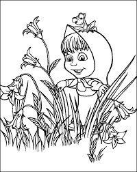 jewish coloring book masha and the bear coloring pages