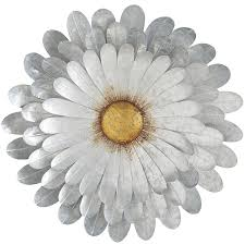 Wall Flower Decor by Galvanized Daisy Wall Decor Pier 1 Imports