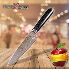 stainless steel kitchen knives grandsharp 6 inch chef knife damascus japanese stainless steel