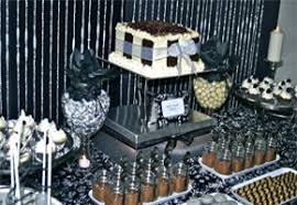 silver party favors black and silver party decorations party favors ideas