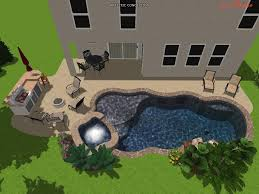 tropical pools and pavers professional 3d pool design my