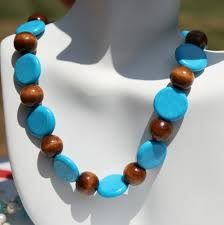 wood necklace designs images Wood beads necklace designs images jpg