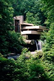 Frank Lloyd Wright Falling Water Interior Fallingwater Pictures Classic View From Path Near Lookout 3