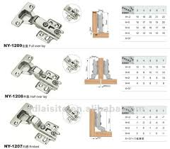 Hinges For Kitchen Cabinet Doors Endearing Cabinet Door Hinges Dimensions Kitchen Types Sumptuous
