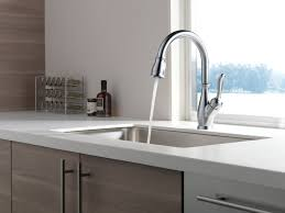 Best Kitchen Faucet Reviews by Delta 9178 Ar Dst Leland Single Handle Pull Down Kitchen Faucet