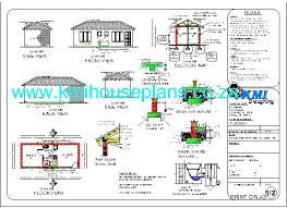 free house building plans flat roof house plan planos casa flat roof house