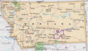 Billings Montana Map by Bighorn And Beyond Trip Idea