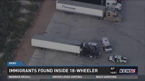 Fema Travel Trailers For Sale In San Antonio Texas Immigrants Found Inside 18 Wheeler In Texas