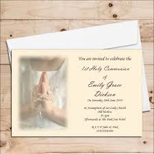 communion invitations 10 personalised 1st holy communion invitations n15