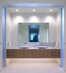 bathroom modern bathroom mirrors with lights frightening photo