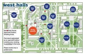 University Of Pennsylvania Map by Penn State Residence Life Maps Of Smoking Areas