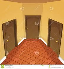 house hallway stock vector image 50761180