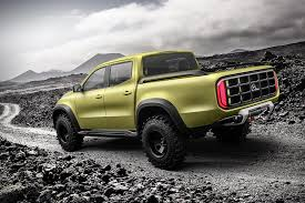 mercedes 6 wheel pickup mercedes benz x class concept truck hiconsumption