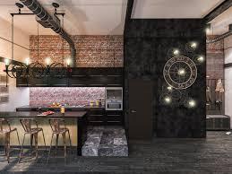cuisine style loft industriel cuisine style industriel loft free with cuisine style industriel