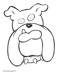free coloring pages large dogs dog coloring book pages dog