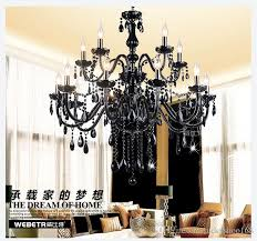 Murano Chandeliers Factory Price Black Murano Chandelier Light Modern Black