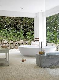 build a spa style outside bathroom in your garden