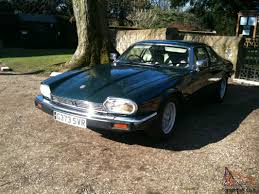 jaguar xjs 3 6 sports coupe manual british racing green with mot