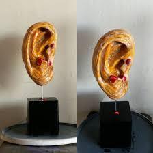 van gogh u0027s severed ear by sculpturedfuture on deviantart
