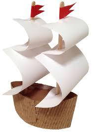 mayflower ship using starbucks coffee sleeve thanksgiving