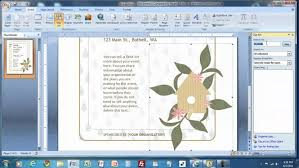 how to make a nameplate in microsoft word applying create template
